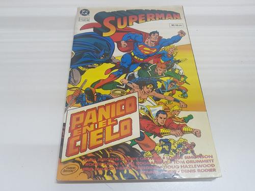 Imagen 1 de 9 de Comic Superman: Panico En El Cielo Original 1993 - Ed. Vid