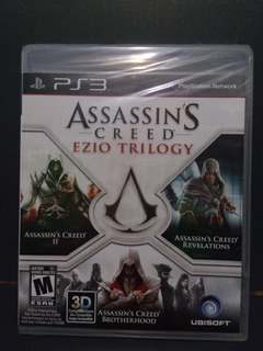 Assassins Creed Ezio Trilogy.-ps3