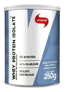 Whey Protein Isolate 250g - Vitafor