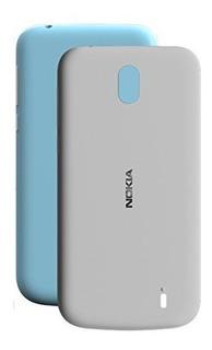 Forro Nokia 1 / Cover Case + Vidrio Somos Oficina Comercial