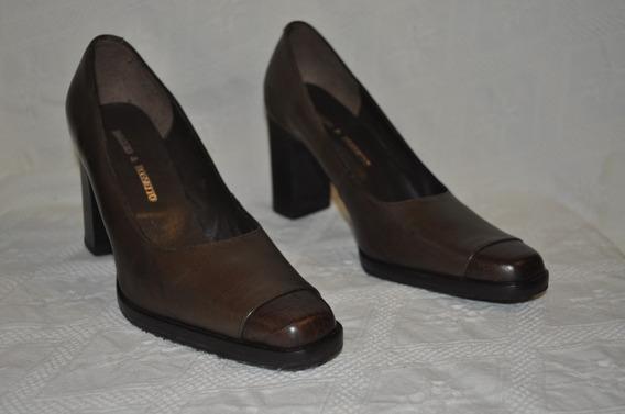 Zapatos Maggio&rossetto - Talle 36 - Color Marrón - Nuevos