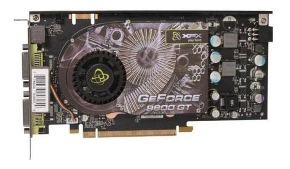 Placa De Vídeo Nvidia Geforce 9800gt / Xfx / Gddr3 (defeito)