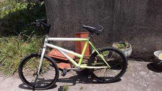 Bicicleta Rodado 20 Cuadro Reforzado Tipo Bmx