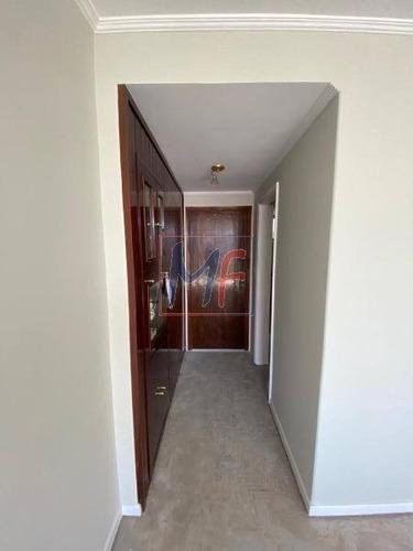 Imagem 1 de 11 de Ref: 11.592 - Lindo Apartamento Totalmente Reformado Porcelanato Modernizado Com 100 M² , 3 Dorms. (1 Suíte), 1 Vaga, No Bairro Santana. - 11592