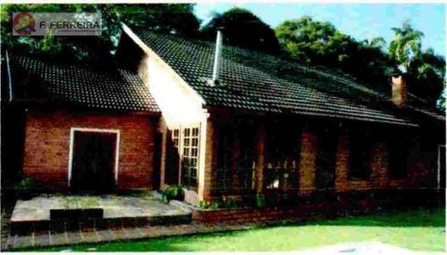 Chácara Com 3 Dormitórios À Venda, 5381 M² Por R$ 950.000 - Embu Mirim - Itapecerica Da Serra/sp - Ch0066