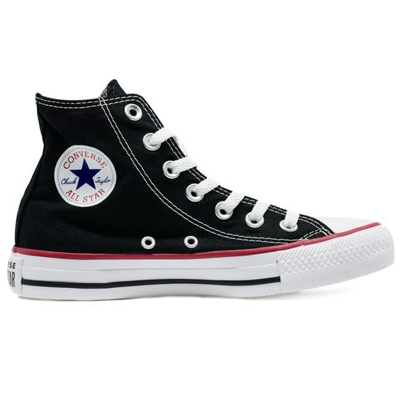 Tênis Converse Chuck Taylor All Star Hi Preto Original