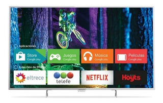 Smart Tv Philips 55 4k Ultra Hd 55pug6801/77 Wi Fi Android