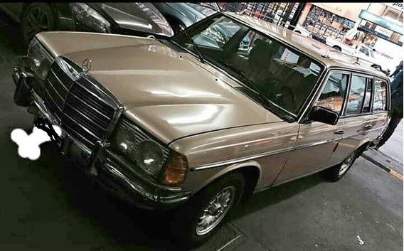 Mercedes Benz 230 Te Rural Chasis W123