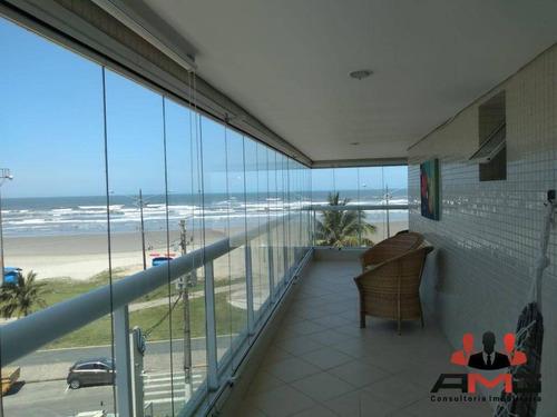 Apartamento Com 3 Dormitórios À Venda, 142 M² Por R$ 1.280.000,00 - Maitinga - Bertioga/sp - Ap2534