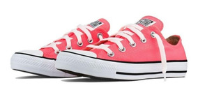 Tênis All Star Laranja Fluor Original 2019 Ct04200023