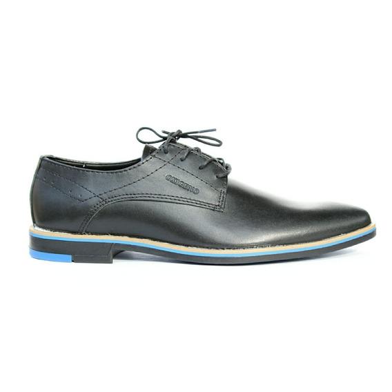 Zapato Hombre Acordonado Cuero 150o