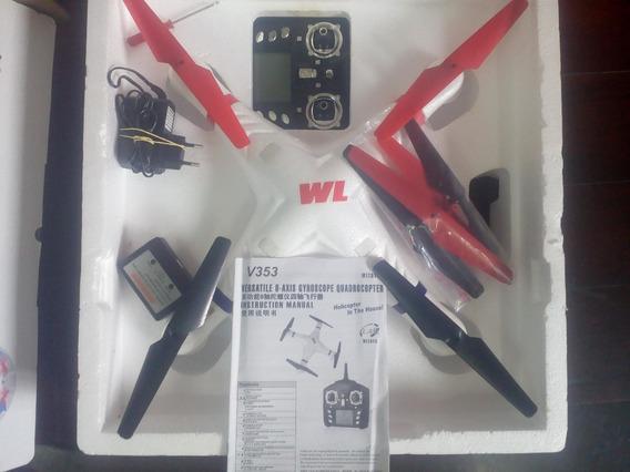 Drone V353 Galaxy Wltoys C/ Camera (suporta Gopro 300gr)