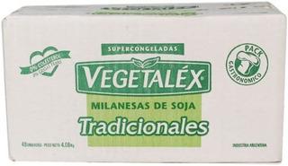 Milanesa De Soja Vegetalex 85 Grs X 48 Unid.