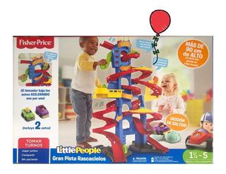 Little People Pista Aventura De Altura 2 En 1 Fisher Price
