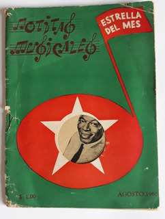 3 Revistas Notitas Musicales Años 60s