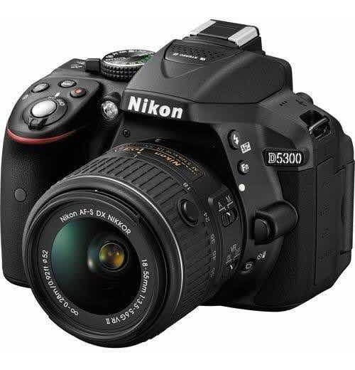 Câmera Nikon D5300+lente18-55+lente 55-200