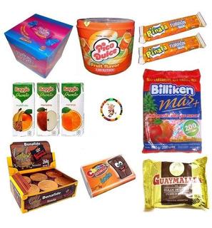 0049- Combo Golosinas + Jugos Baggio 25 Chicos Candyshop