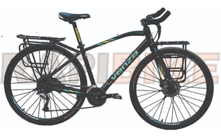 Bicicleta Ruta Urbana Venzo Traveler 18 Vel Sora Equipaje