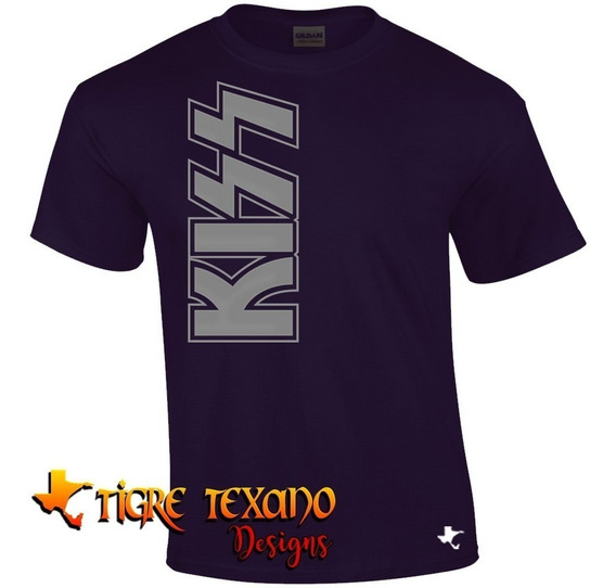 Playera Bandas Kiss Modelo 07 By Tigre Texano Designs
