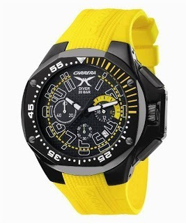Reloj Carrera Diver 20 Bar 10015 Caballero