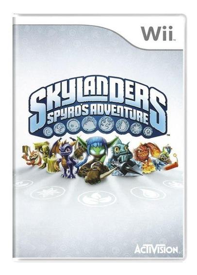 Skylanders Spyros Adventure Wii Mídia Física Pronta Entrega