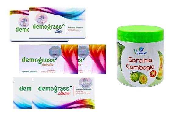 Kit Demograss 2 Plus, 2 Clásicos + 2 Premier + 1 Gel Reducti
