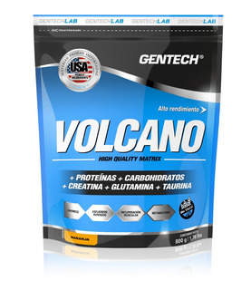 Volcano 800 Gr Gentech Proteína Creatina Glutamina Taurina Sin Taacc