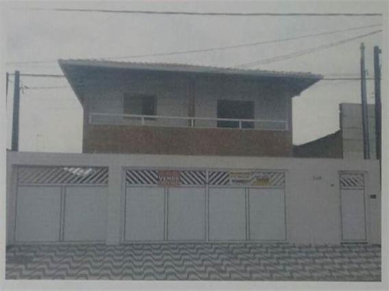 Casa 02 Dormitórios-samambaia-praia Grande - Sp154