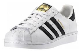 Adidas Superstar Mujer Blancas Clasicas - Zapatillas de ...