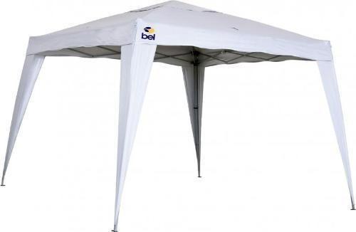 Tenda Gazebo Dobrável 3 X 3 Poliester Aluminio Branco