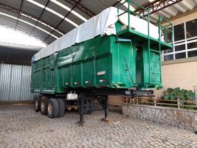 Carreta Caçamba Basculante Para Lixo
