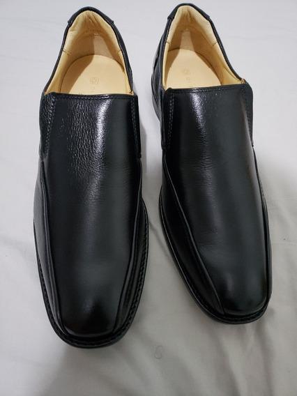 Sapato Masculino Social Da Di Pollini Cor Preto, Está Novo