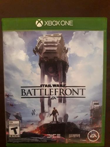 Imagen 1 de 1 de Juego Cd Star Wars Battlefront Xbox One