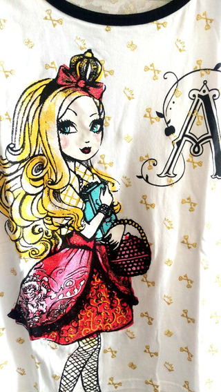 Ever After High, Hermoso Regalo!!, Playera Y Lonchera Grande