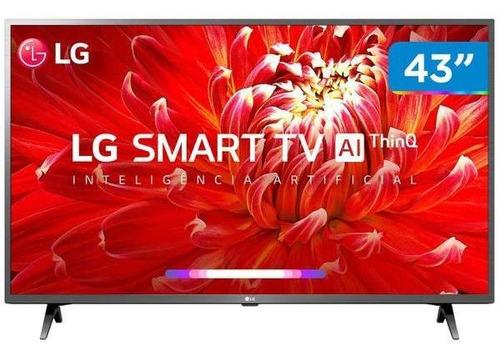Smart Tv Led 43 LG 43lm6300psb Full Hd Wi-fi - Inteligência