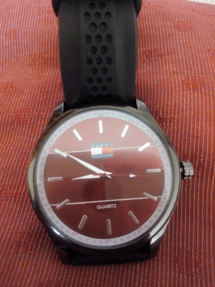 Relógio Tommy Hilfiger Pulseira De Silicone