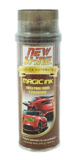 Tinta Para Ahumar Faros Y Calaveras New Shine Magic Negra 1