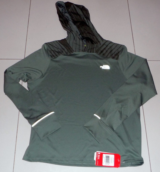 North Face Sudadera Ligera Secado Rápido Large Correr Runnin