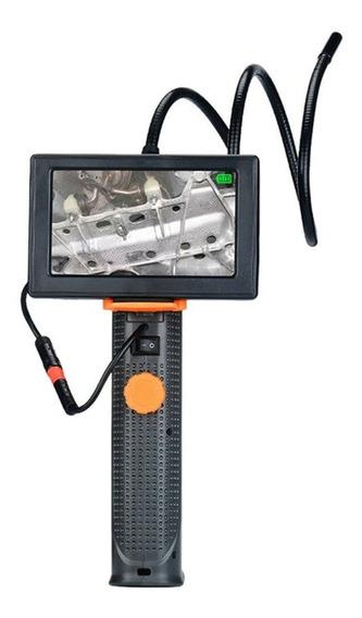 Camera De Inspeção Boroscópica Com Visor Lcd 4.3, Removivel