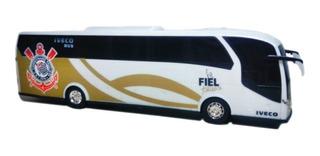 Ônibus Oficial Do Corinthians Iveco Timão Sccp Licenciado