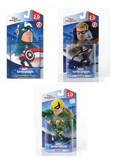 Kit Marvel Disney Infinity 2.0 Capitão Arqueiro Punho