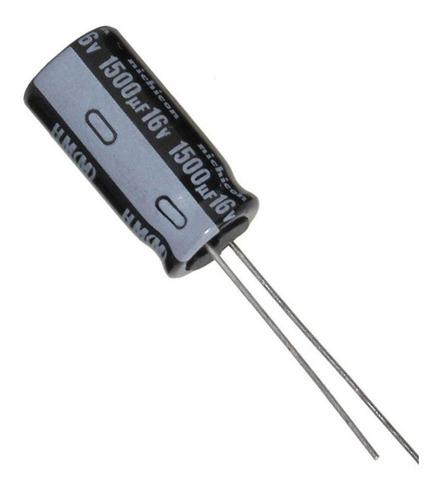 Imagen 1 de 2 de Capacitor Electrolitico Pc Monitor 1500uf X 16v X10 Unidades