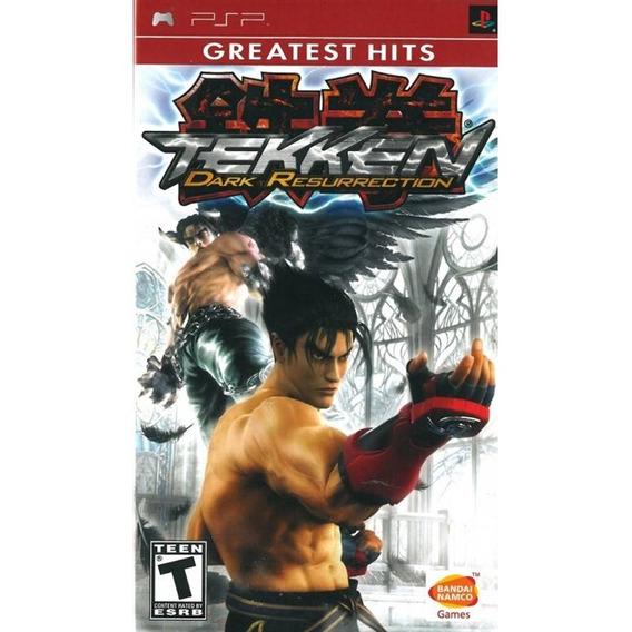 Tekken Dark Resurrection Greatest Hits Psp Lacrado