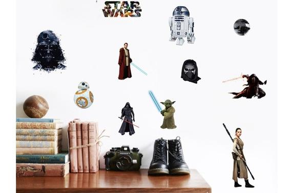 Adesivo De Parede Star Wars - Entrega Rápida