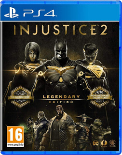 Injustice 2 Legendary Edition Ps4 Fisico, Nuevo Y Sellado