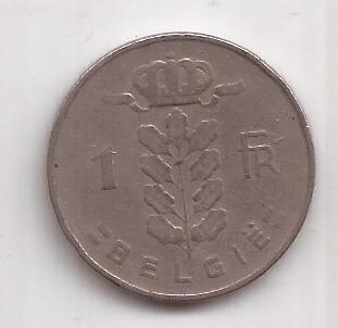 Belgica Antigua Moneda De 1 Franco Año 1956 Belgie