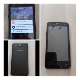 Teléfono Noblex Modelo N451 Mica Partida, Lo Demás Funcional