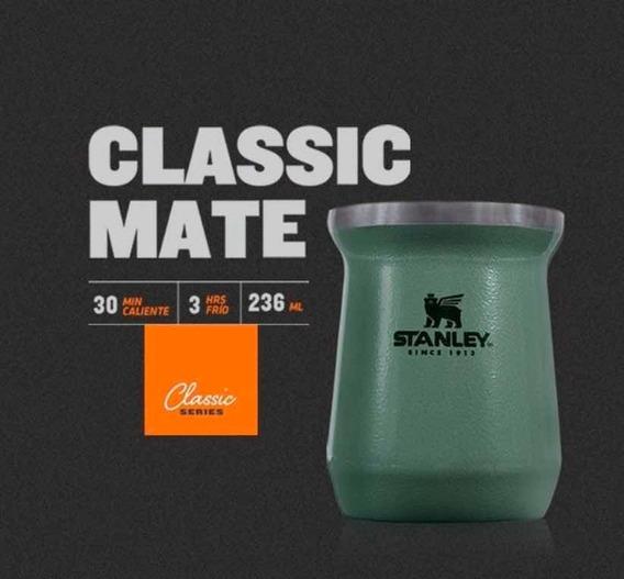 Mate Stanley Acero Inoxidable Térmico Classic Color Verde