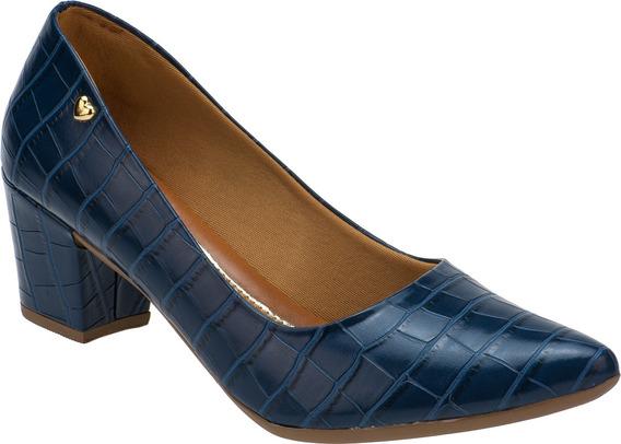 Sapato Feminino Scarpin Bico Fino Salto Grosso | S02a2.scp
