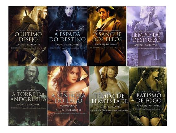 Coleção Completa The Witcher - Capa Tradicional ( 8 Livros)